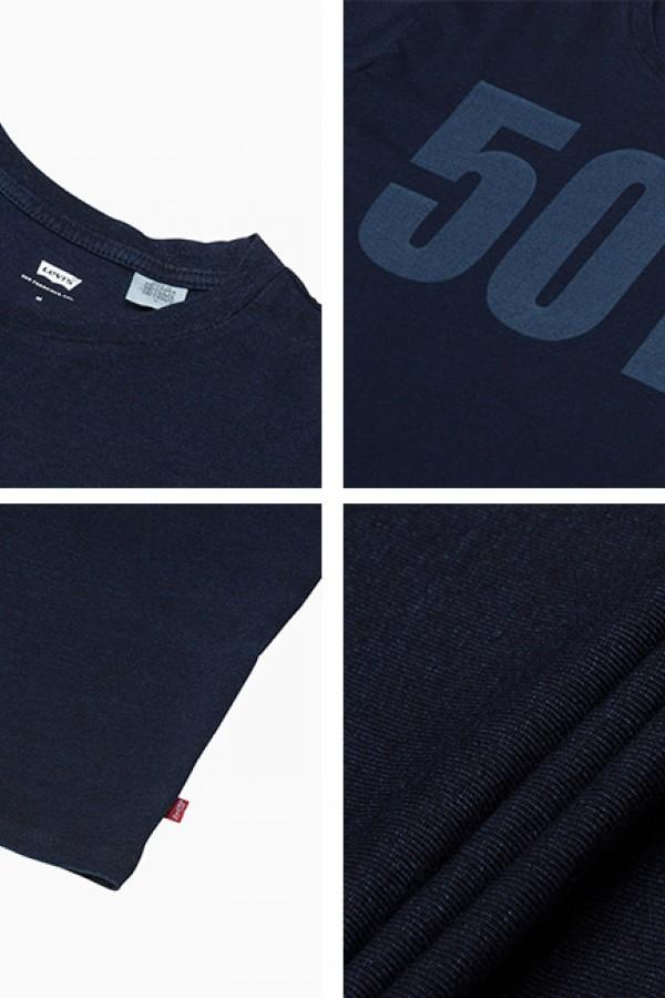 Levis Erkek T-shirt 501-Graphic-Tee-26572-0032