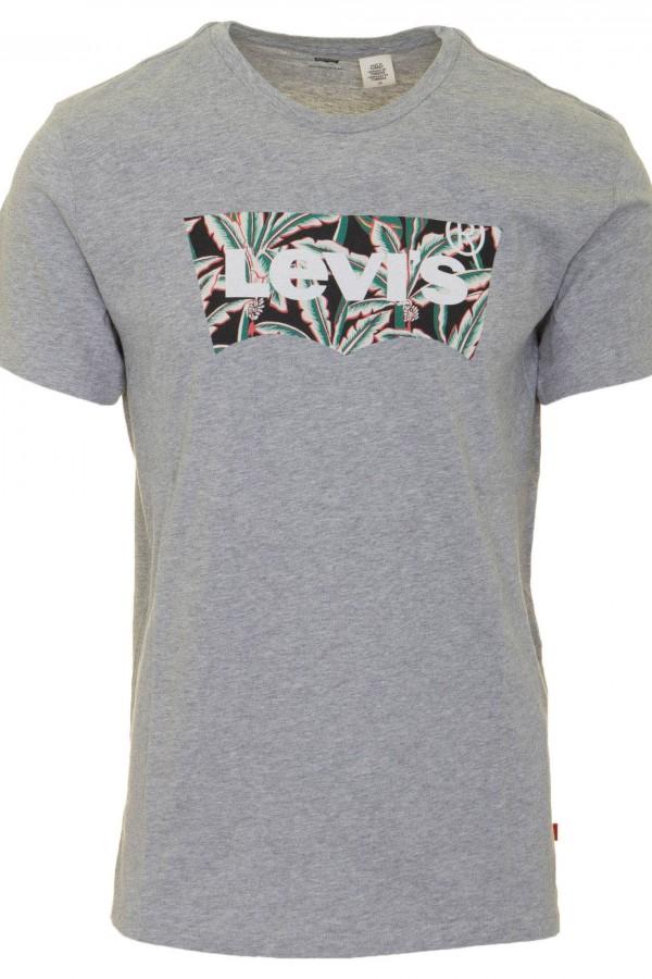 Levis Erkek T-shirt-Housemark-Graphic-Tee-22489-0081