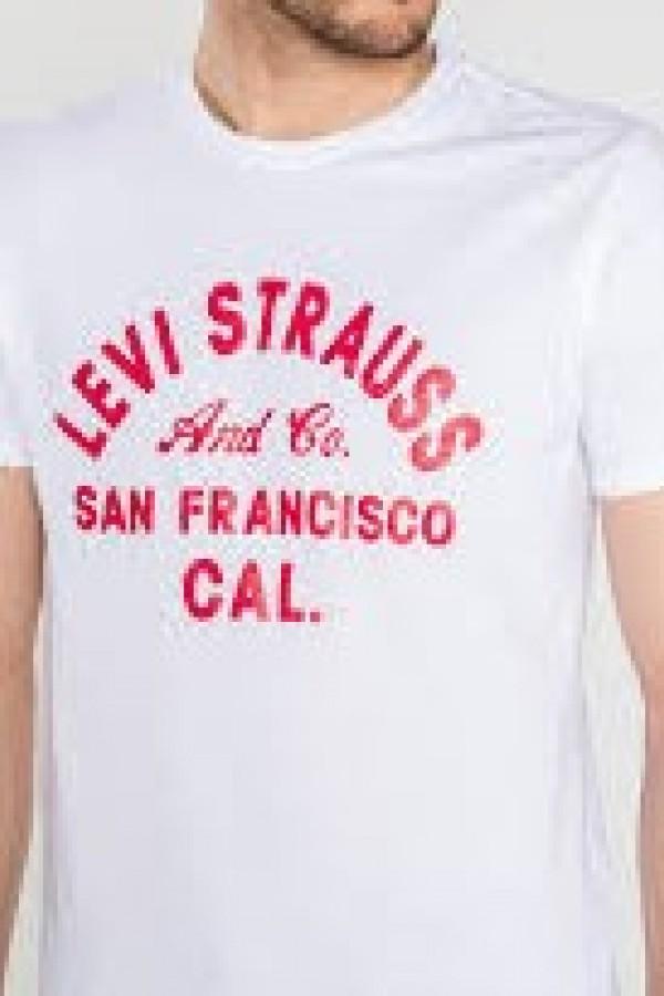 Levis Erkek T-shirt Graphic Set-In Neck 2 -22491-0352