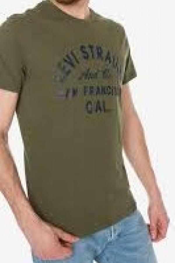 Levis Erkek T-shirt Graphic Set-In Neck 2 -22491-0355