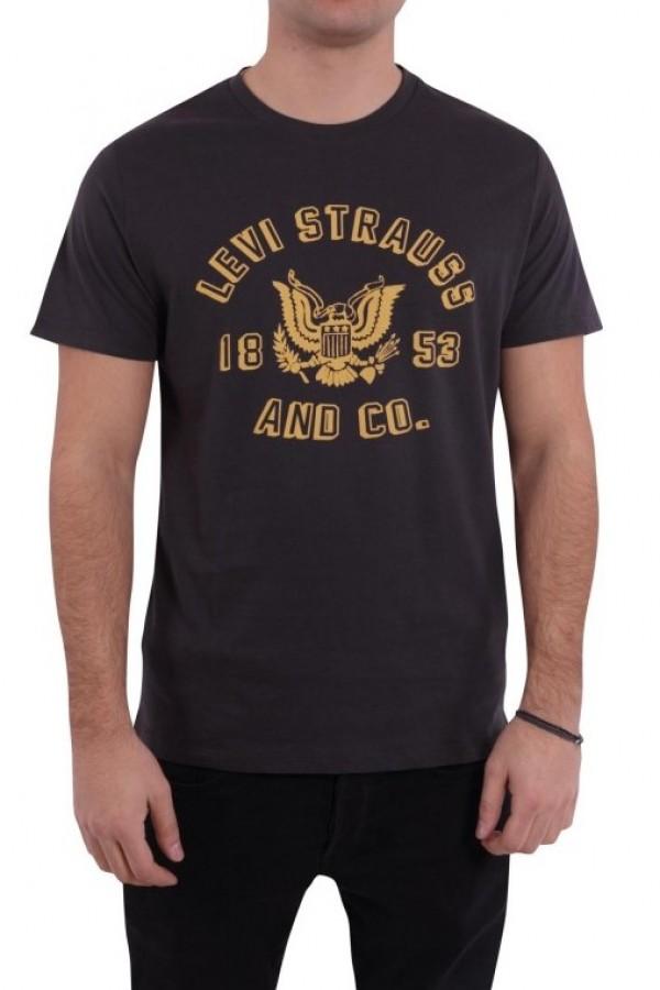 Levis Erkek T-shirt Graphic Set-In Neck 2 -22491-0374
