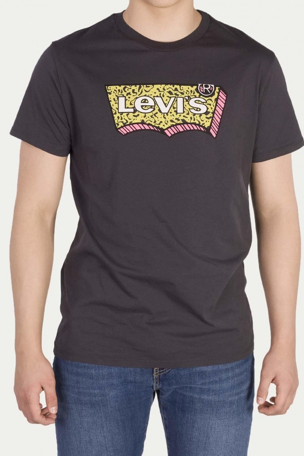Levis Erkek T-shirt-Housemark-Graphic-Tee-22489-0082