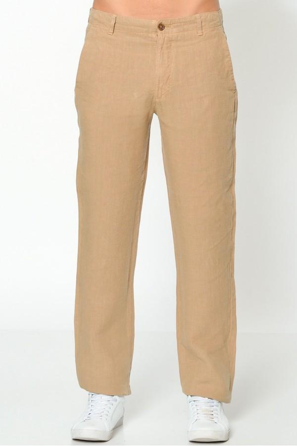 Dockers Erkek Ham Keten Pantolon Slim 47612-0003
