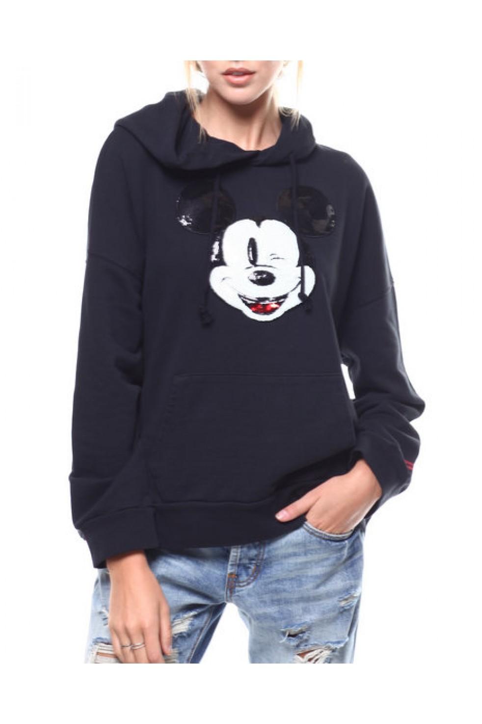 Levis Bayan Sweatshirt Oversized HOODIE 57597-0002
