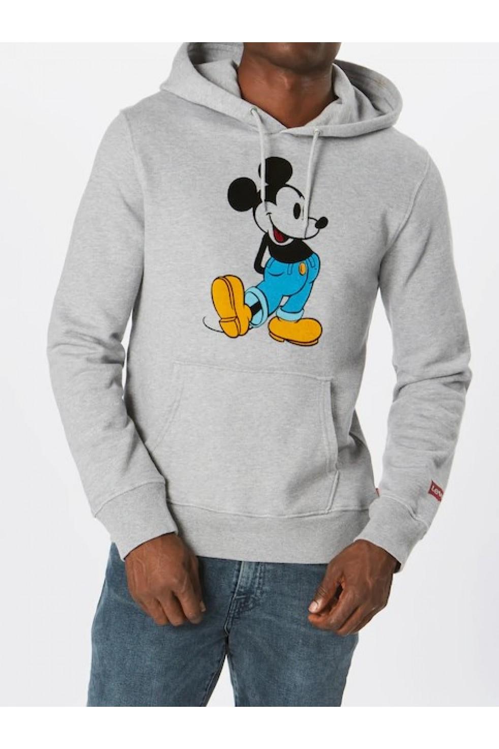 Levis Erkek Sweatshirt Graphic Po HOODIE-B 19491-0043