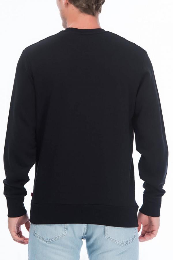 Erkek Graphic Crew Housemark Sweatshirt 19492-0027