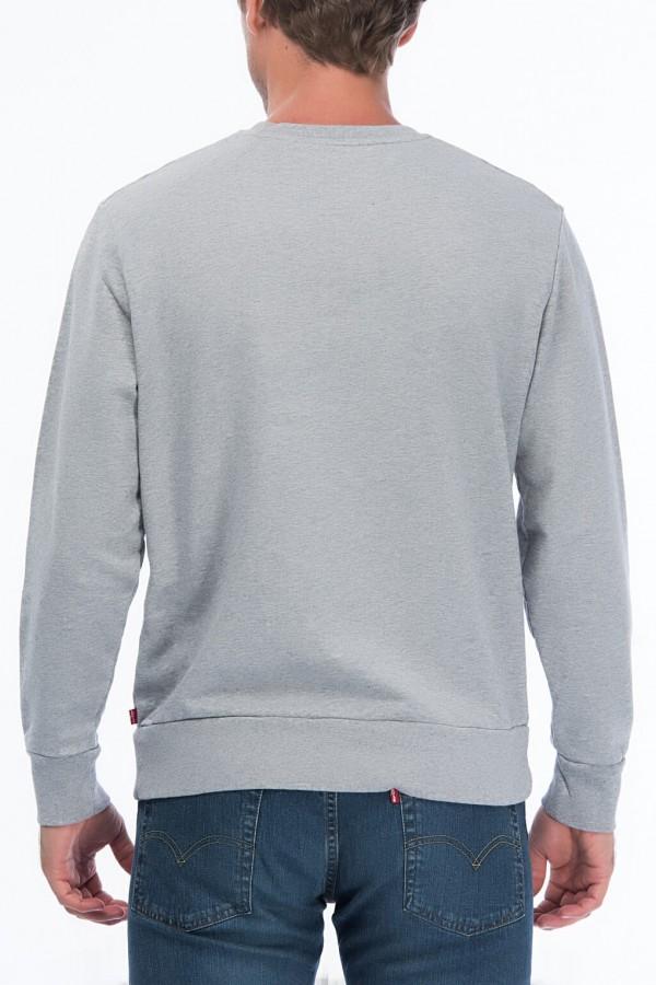 Erkek Graphic Crew Housemark Sweatshirt 19492-0026