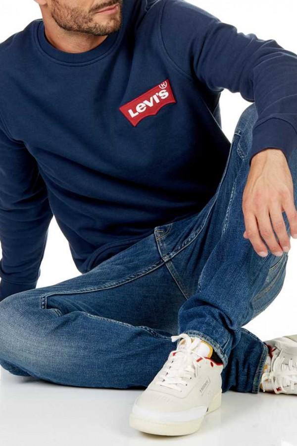 Levis Erkek Sweatshirt Modern HM Crewneck 56606-0001