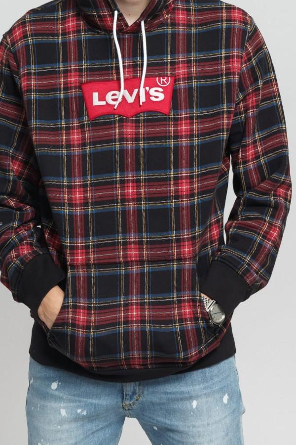 Levis Erkek Sweatshirt Modern HM Hoodie 56808-0008
