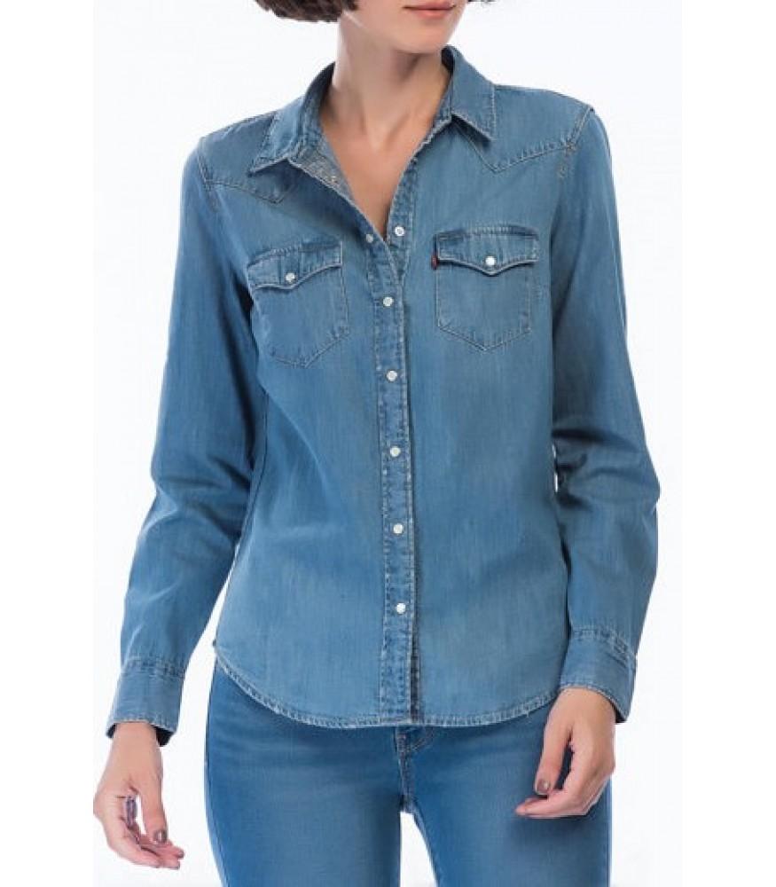 Levis Kadın Ultimate Western Jean Gömlek 58930-0007