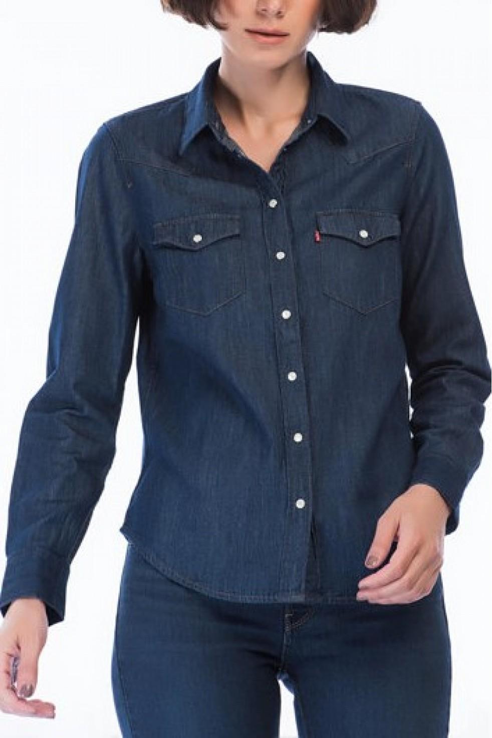 Levis Kadın Ultimate Western Jean Gömlek 58930-0009