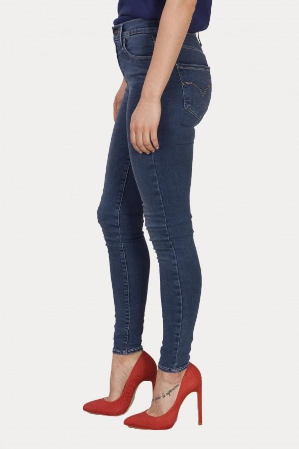 Levis Bayan Jean Pantolon 720 HIRISE Super Skinny 52797-0018