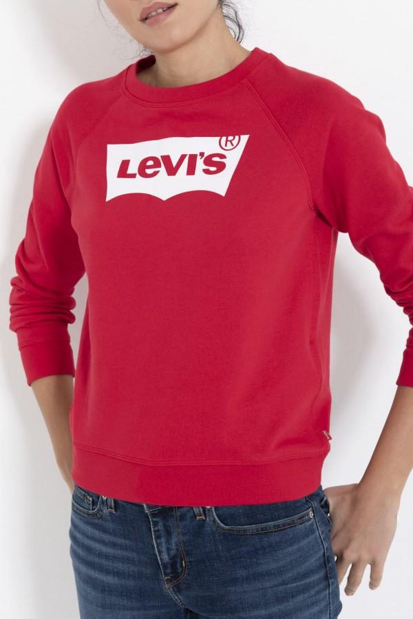 Levis Bayan Sweatshirt The Graphic Classic Crew 29765-0027