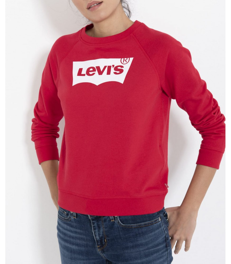 Levis Bayan Sweatshirt The Graphic Classic Crew 29765-0027